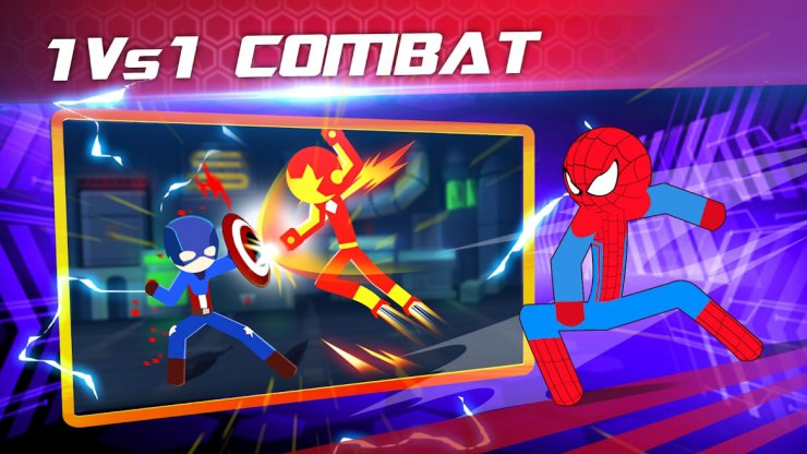 بازی Super Stickman Heroes Fight
